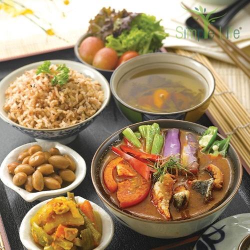 Vegetarian Asam Seaweed Beancurd / 亚参蔬菜余