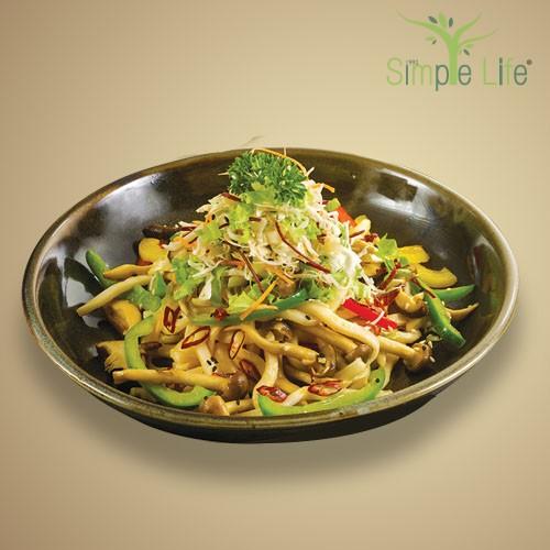 Dried Chili Fried Udon / 辣椒干炒乌冬