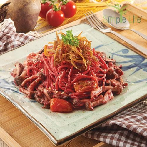 Beetroot Sauce Spaghetti / 甜菜根酱意大利面
