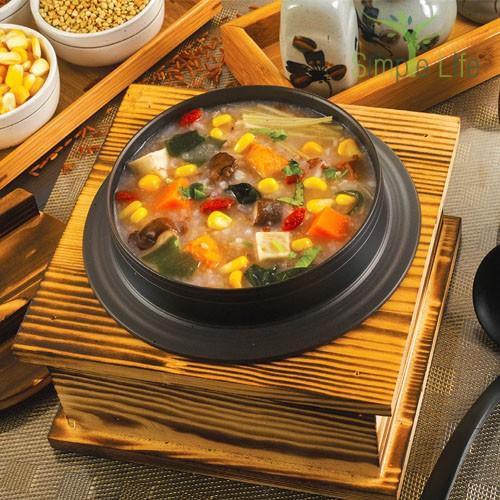 Sweet Corn Multi-Grain Porridge / 甜玉米五谷粥