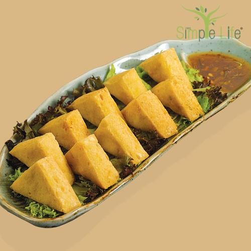 Fried Organic Beancurd / 酥炸有机豆腐