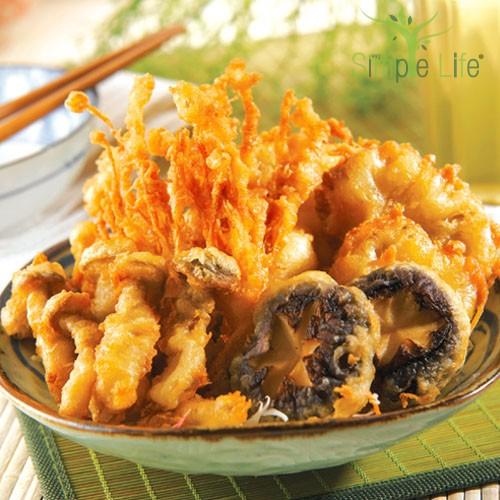 Mixed Mushroom Platter / 酥炸什锦鲜菇