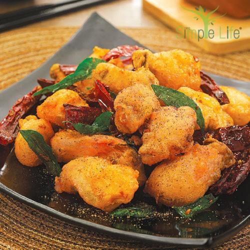 Spicy Oyster Mushroom / 辣子杏鲍菇