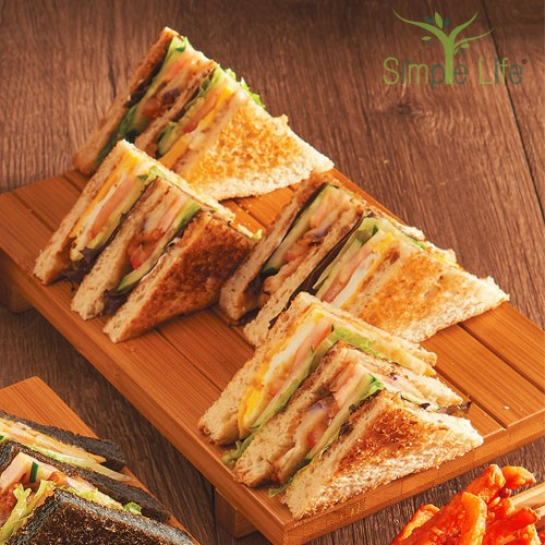 Simple Life Club Sandwiches / 简易乐活三文治