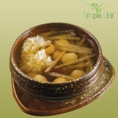 Pear White Fungus Longan / 香梨木耳龙眼