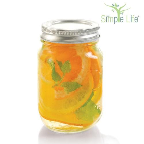 Orange + Grapefruit Lemon + Mint Leaves + Honey / 橙 + 柚子 + 柠檬 + 薄荷叶 + 蜜糖