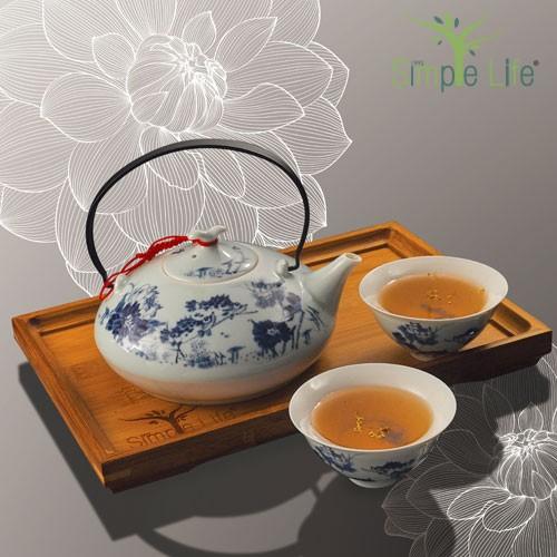 (Pu Er/Tie Guan Yin) + Osmanthus / 极品茶 (普尔/铁观音) + 桂花