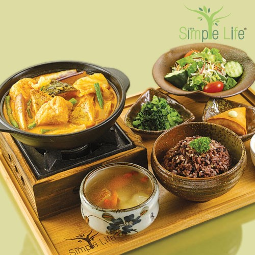 Vegetable Curry Pot / 咖哩蔬菜煲