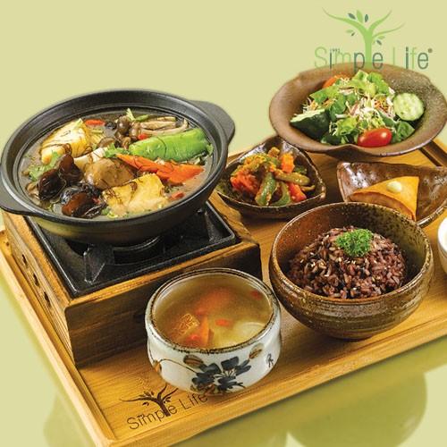 Angel Luffa Beancurd Pot / 丝瓜豆腐煲