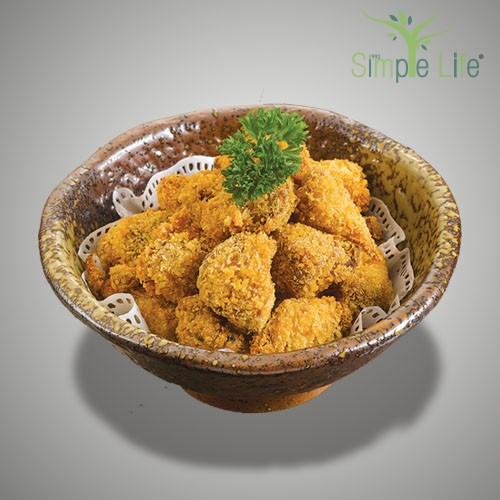 Deep Fried Lion's Mane Mushroom / 酥炸弥候菇